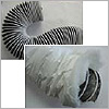 Flexible ducting (plastic)