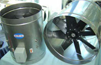 AXIAL FANS (Stainless Steel Casings)