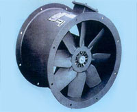 Axial Fans—Hot Dip Galvanised Casings